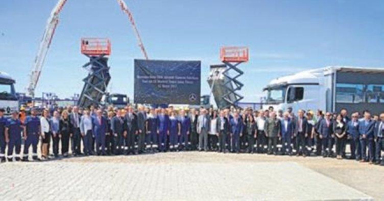 Mercedes'ten Aksaray'a yeni Ar-Ge merkezi