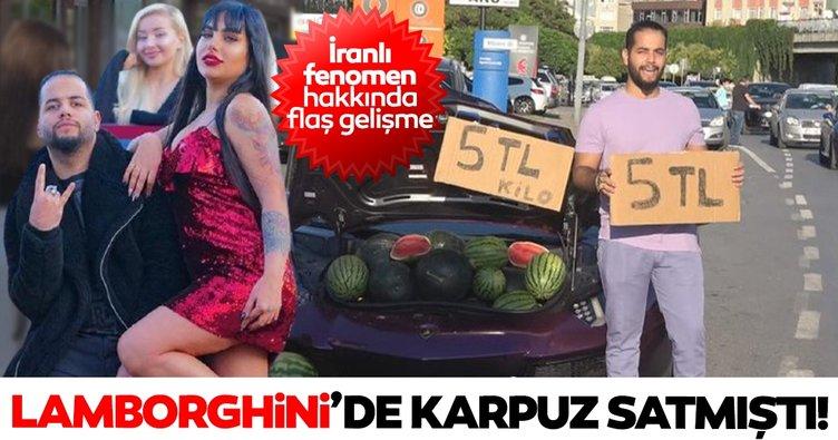 SON DAKİKA: İstanbul'da Lamborghini'de karpuz satmıştı! İranlı fenomen Milad Hatemi hakkında flaş gelişme!