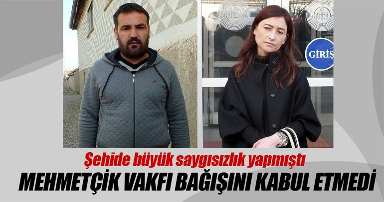 Mehmetçik Vakfı o avukatın bağışını kabul etmedi
