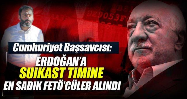 Suikast timine Fetullah Gülen'e en sadık askerleri seçtiler