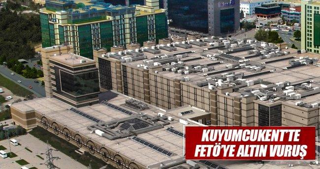 Kuyumcukent'te FETÖ'ye altın vuruş