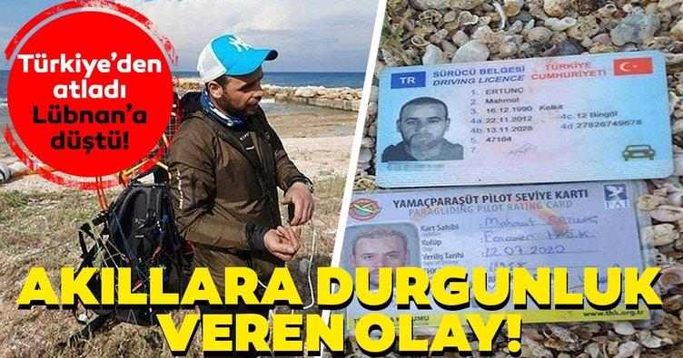 Son dakika: Okuduklarınıza inanamayacaksınız! Akıllara durgunluk veren olay: Türkiye'den atladı, Lübnan'a düştü...