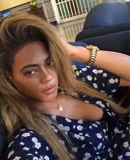 Ünlü şarkıcı Beyonce'ye ikizi kadar benziyor