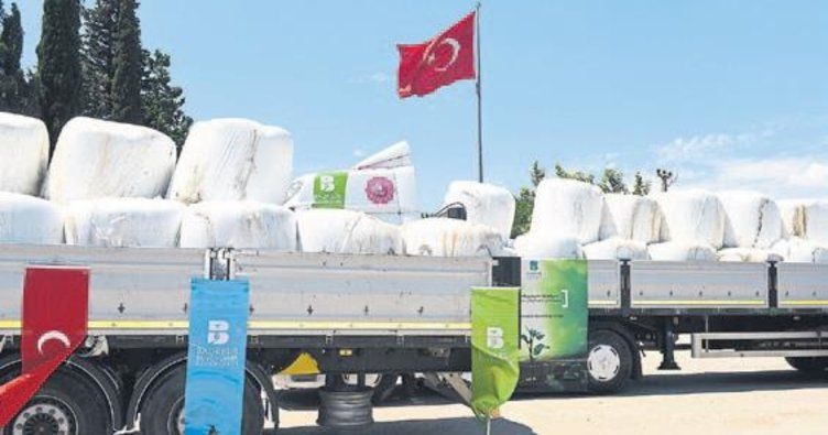 Türkiye'yi doyuran ilden çiftçilere büyük destek