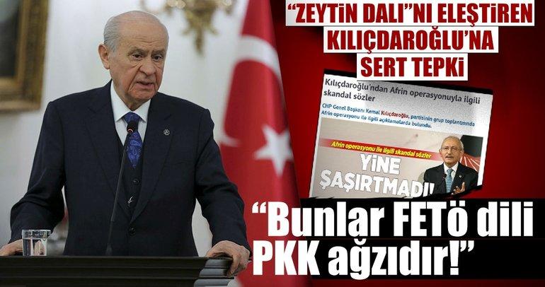 Devlet Bahçeli: Bunlar FETÖ dili PKK ağzıdır