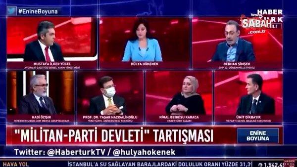 CHP'li Berhan Şimşek'ten canlı yayında skandal 'Militan' açıklaması' | Video