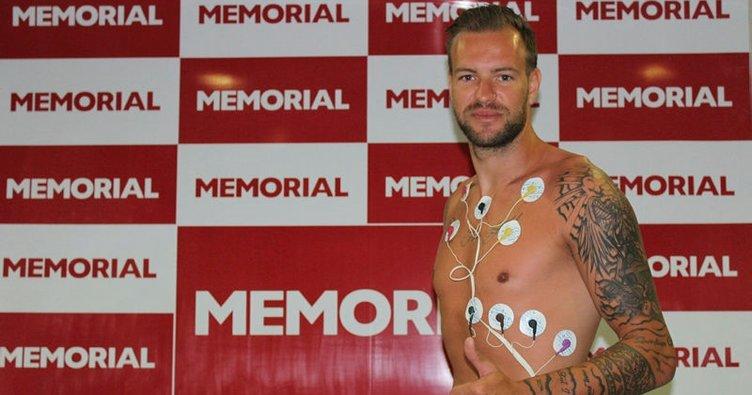 Antalyaspor'da Boffin sağlık kontrolünden geçti