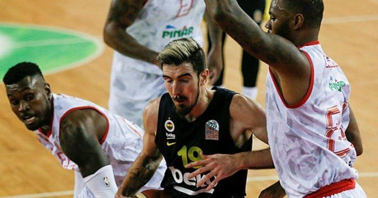 Pınar Karşıyaka: 83 - Fenerbahçe Beko: 79 | MAÇ SONUCU