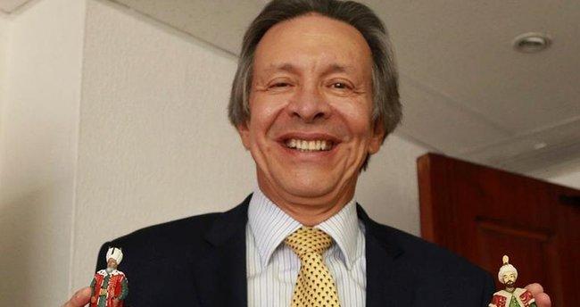 Kolombiya elçisinin 'Türkiye sevdası'