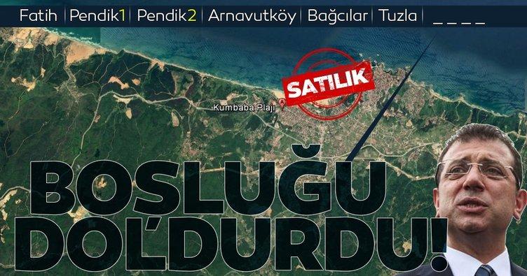 İmamoğlu İstanbul'da satacağı yeni yeri buldu! Şile'nin ünlü sahili Kumbaba'daki park da gidiyor!