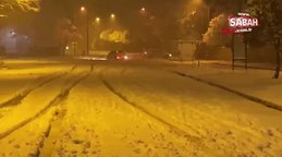 Karlı yolda drift yapan sürücüleri mahalle halkı polise bildirdi | Video