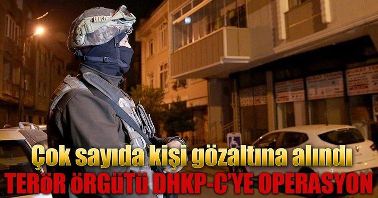 İstanbul'da DHKP-C'ye operasyon