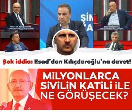 CHP'li Barış Yarkadaş: Esad, Kılıçdaroğlu'na haber yolladı! 'Gelin konuşalım'