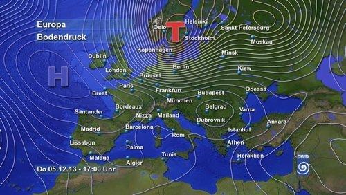 Avrupa'yı felç eden fırtına