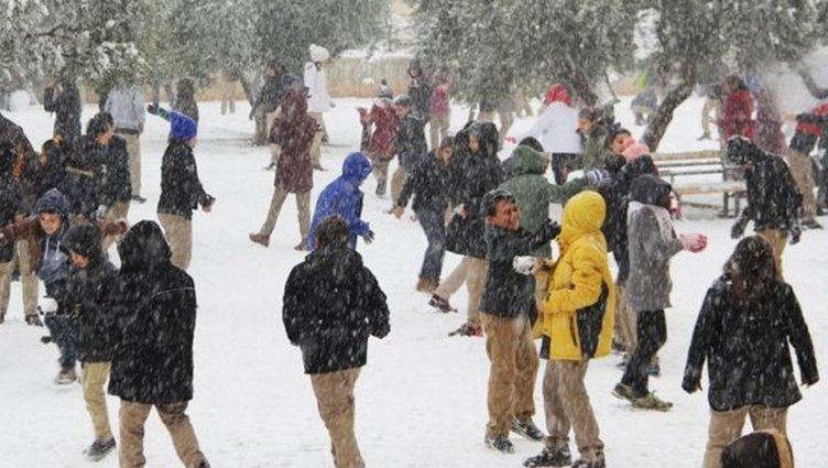 İşte 27 Aralık Perşembe kar tatili olan iller