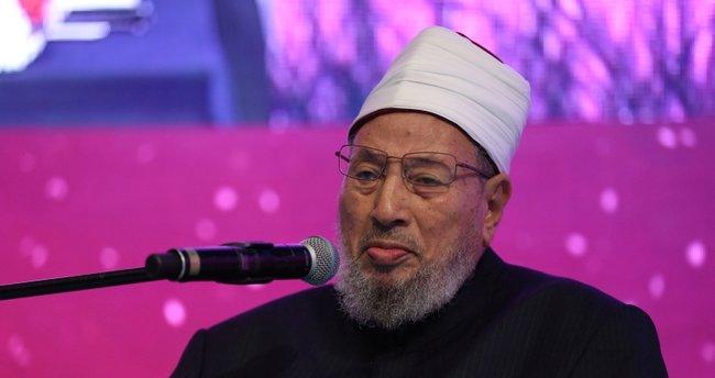 Yusuf el-Karadavi: Türkiye'nin yeniden İslam dünyasının yönetim merkezi olması için dua ediyoruz - Son Dakika Haberler