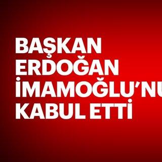 Son dakika: Başkan Erdoğan'ın İmamoğlu'nu kabulü sona erdi