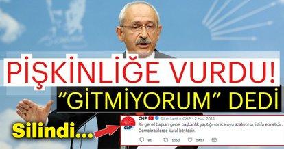 Son dakika haberi: CHP'de kazan kaynıyor! CHP lideri Kemal Kılıçdaroğlu 'Gitmiyorum' dedi