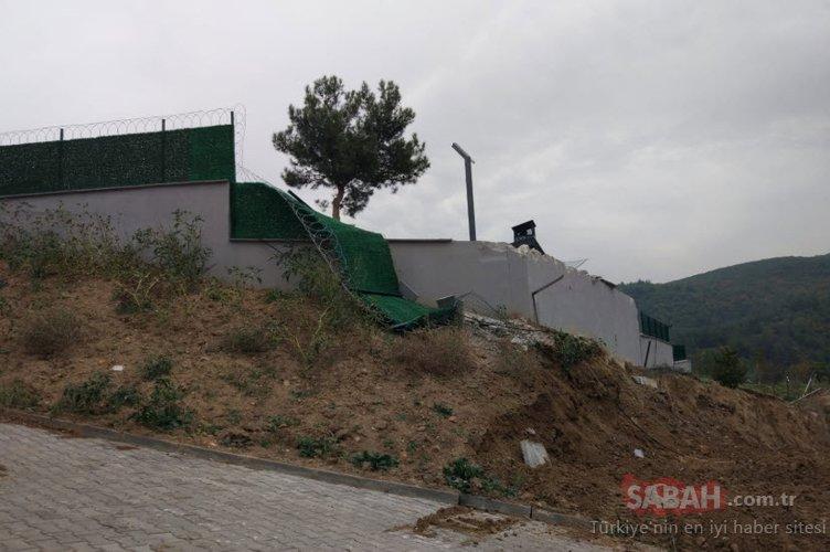 CHP'li başkanın kaçak villası yıkıldı