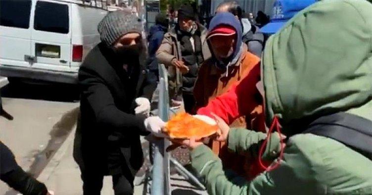 Pizzacı Hakkı ABD'de evsizlerin umudu oldu
