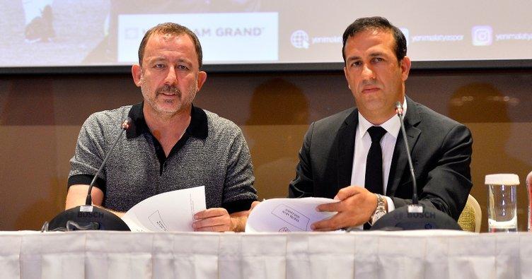 Sergen Yalçın'dan Yeni Malatyaspor'a 1 yıllık imza
