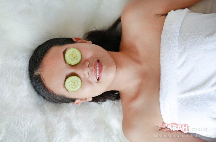 Göz altı morlukları için maske tarifleri