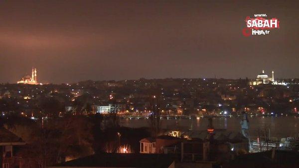 İstanbul'da çamur yağışı etkili oldu   Video