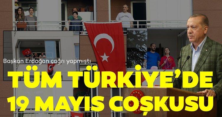 Son dakika: Tüm Türkiye İstiklal Marşını okumak için balkonlarda buluştu