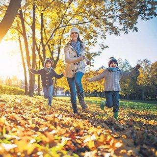 Sonbaharın tadını çocuklarla çıkarın