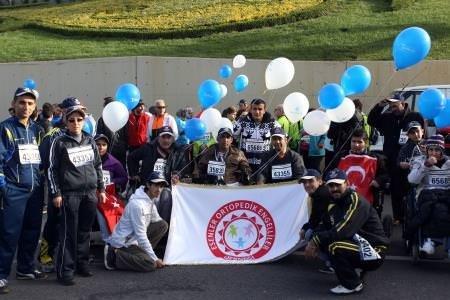İstanbul Maratonu'ndan renkli kareler!