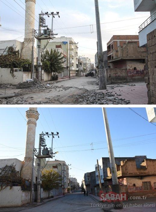 Terör örgütü PKK yıktı, devlet ayağa kaldırdı