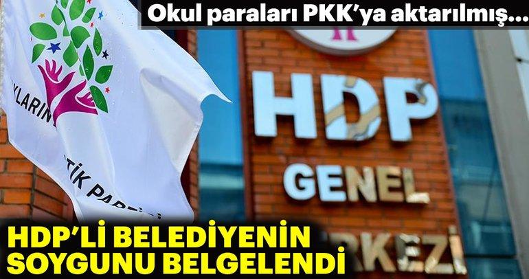 HDPnin PKKya aktardığı paralar belgelendi