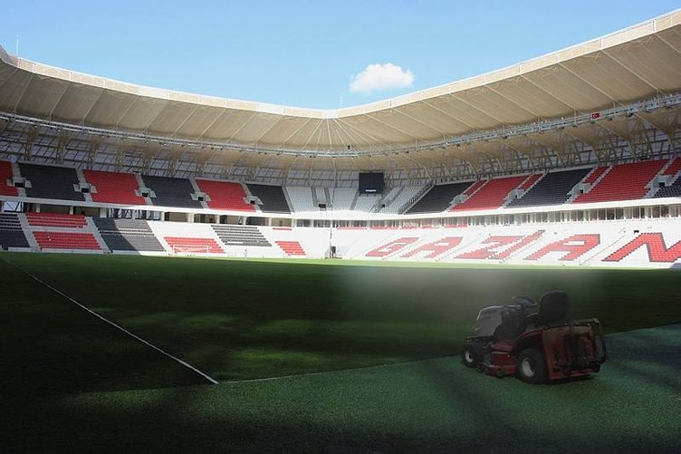 Gaziantep Arena'da sona gelindi