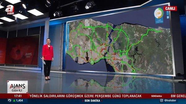 Kısıtlamaya saatler kala trafik yoğunluğu arttı   Video