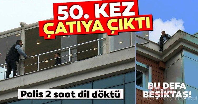 İntihar girişimi rekortmeni bu kez Beşiktaş'taydı! İşte detaylar...