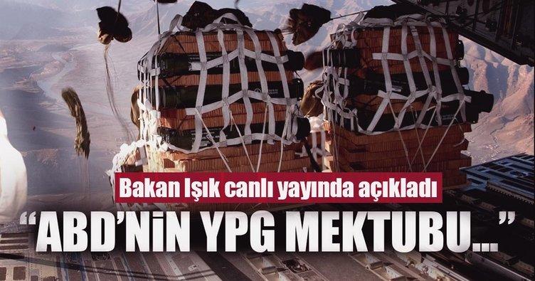 Bakan Fikri Işık'tan ABD'nin YPG mektubuna ilişkin ilk açıklama