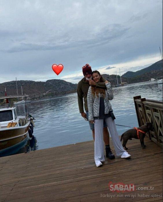 Kıvanç Tatlıtuğ'dan eşi Başak Dizer ile aşk paylaşımı! Kıvanç Tatlıtuğ ile eşi Başak Dizer romantizmin doruklarında...