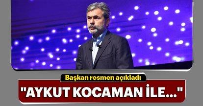 Ali Şafak Öztürk'ten Aykut Kocaman açıklaması