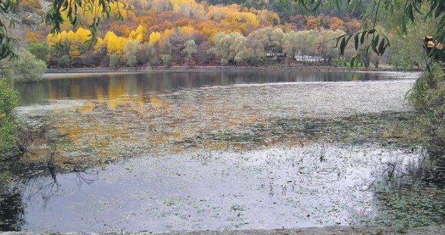 Şimdi Karagöl'de sonbahar zamanı