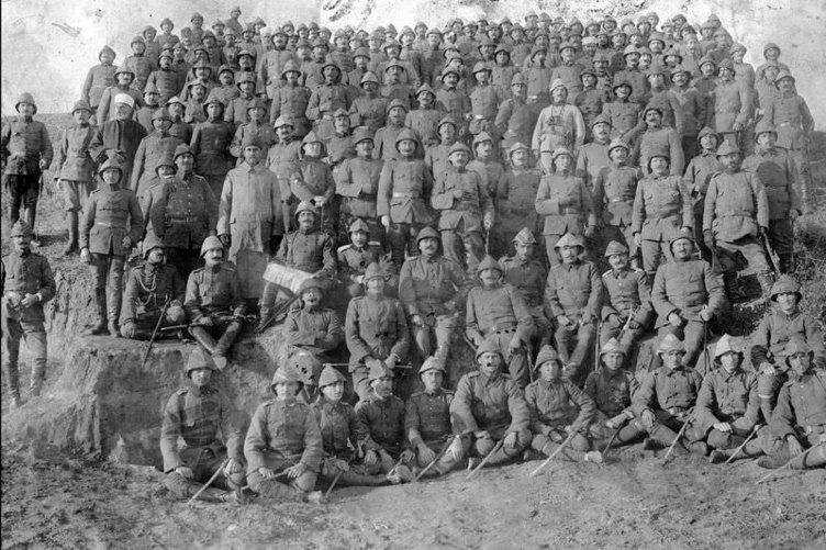 1. Dünya Savaşı'nın özel kareleri