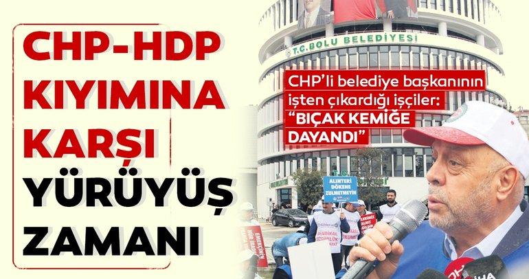 CHP-HDP kıyımına karşı yürüyüş zamanı