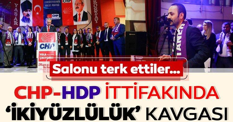 CHP-HDP ittifakında 'ikiyüzlülük' kavgası