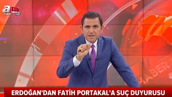 Cumhurbaşkanı Erdoğan'dan FOX TV sunucusu Fatih Portakal'a suç duyurusu | Video