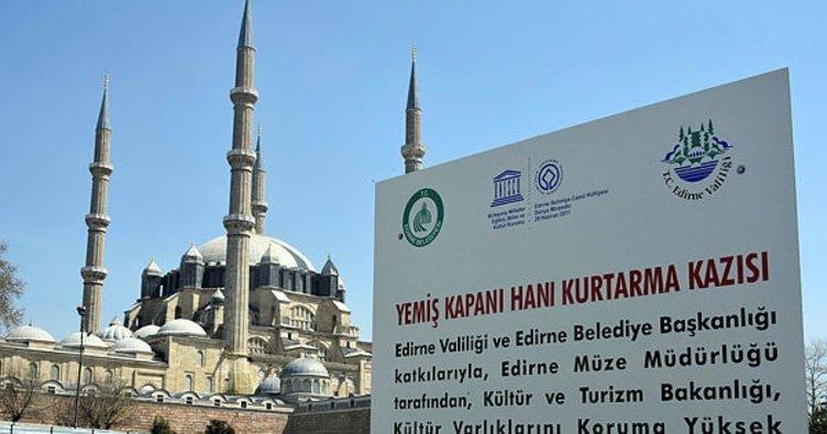 Selimiye Camii'nde silüet endişesi