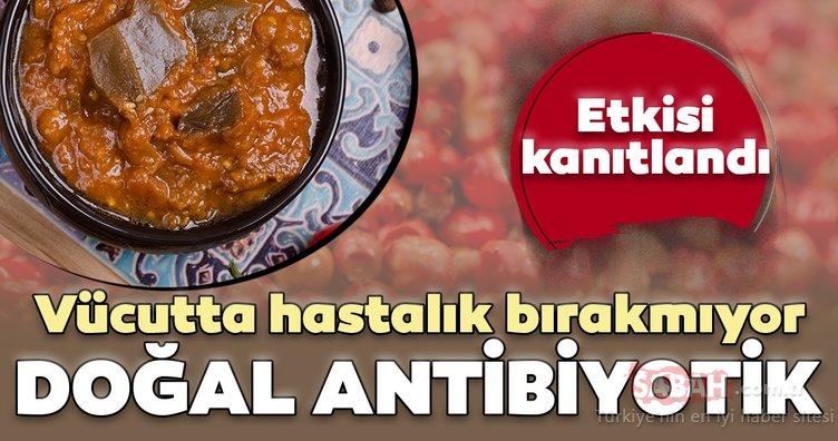 O besin hastalıklara şifa oluyor! İşte doğal antibiyotik denilen mucize...