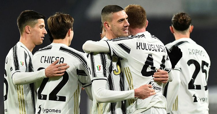 Juventus 4 attı Inter'e rakip oldu