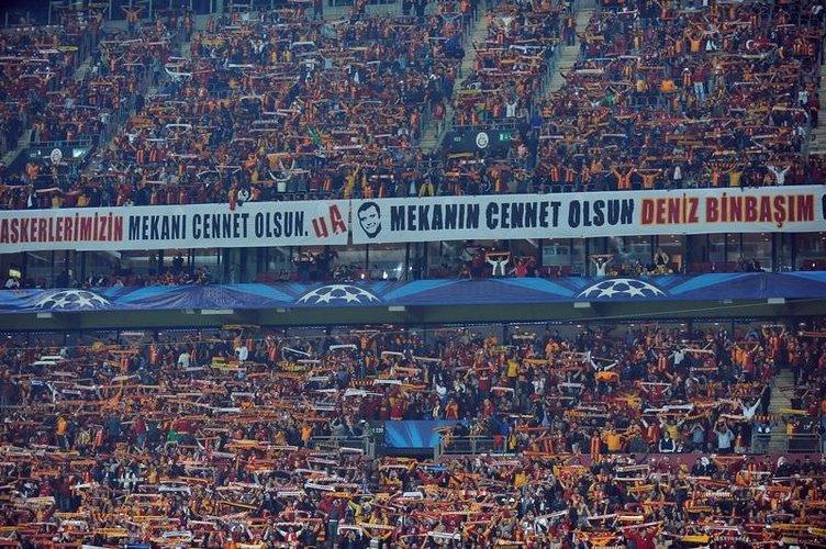 Galatasaray - Borussia Dortmund maçının fotoğrafları