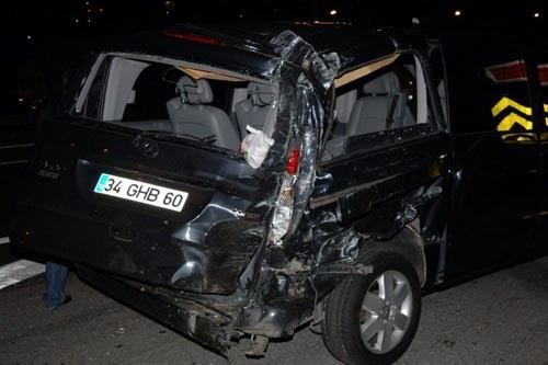 Saba Tümer kaza yaptı
