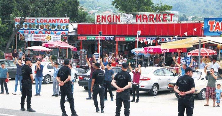 Kılıçdaroğlu'na Düzce'de protesto
