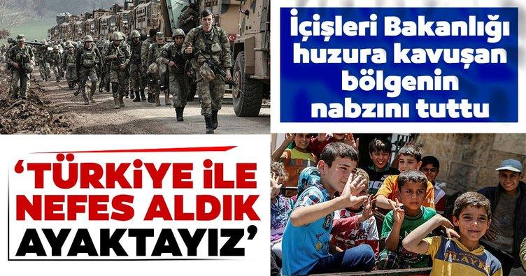 İçişleri Bakanlığı'ndan Suriye raporu: 'Türkiye ile nefes aldık ayaktayız'